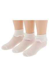 Jefferies Socks - Cluny & Satin 6 Pair Pack (Infant/Toddler/Youth)