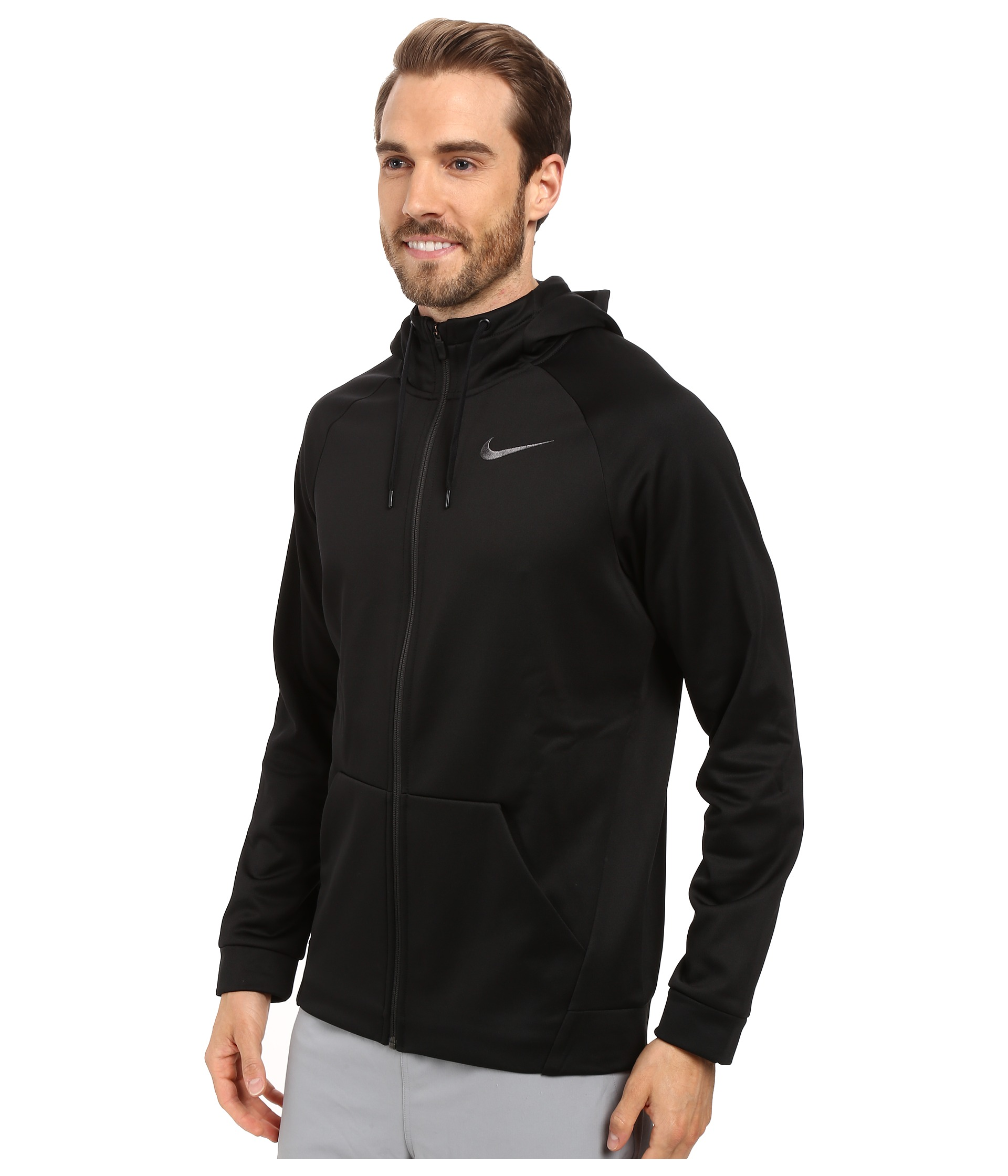 nike bord max de l'air ainsi que des chaussures - Nike Therma Full-Zip Training Hoodie - Zappos.com Free Shipping ...