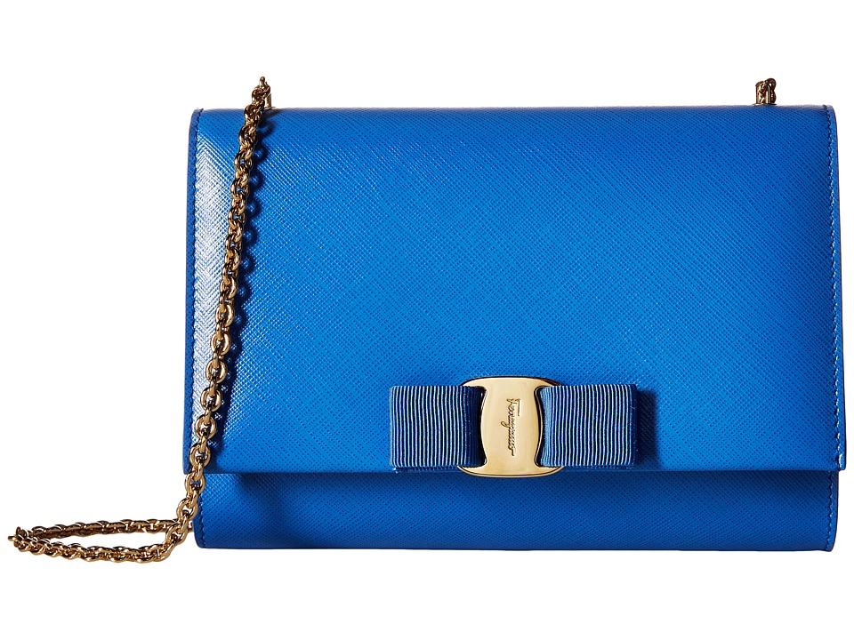 Salvatore Ferragamo - 22B558 (Blue Indien/Blue Indien) Wallet