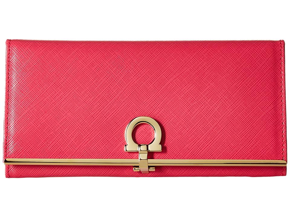 Salvatore Ferragamo - 224633 C (Framboise) Bi-fold Wallet