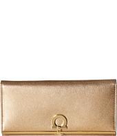 Salvatore Ferragamo - 22C355 Gancini Continental Wallet