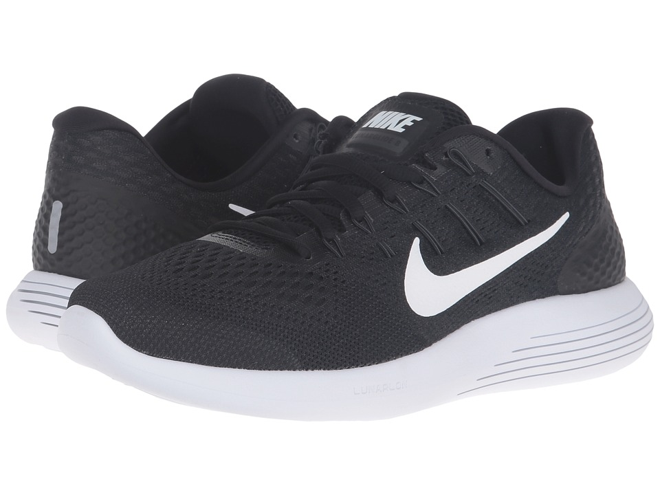 Nike - Lunarglide 8 (Black/White/Anthracite) Men