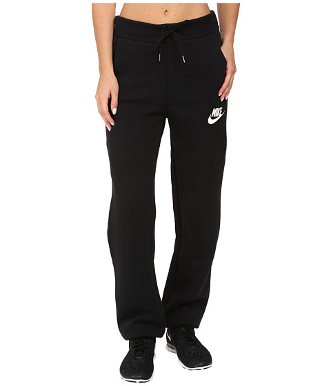 Nike Rally Loose Pant - Black/Black/Antique Silver/White