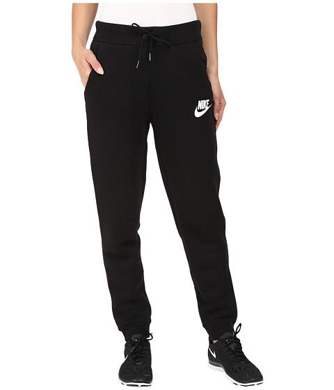 Nike Rally Regular Pant - Black/Black/Antique Silver/White