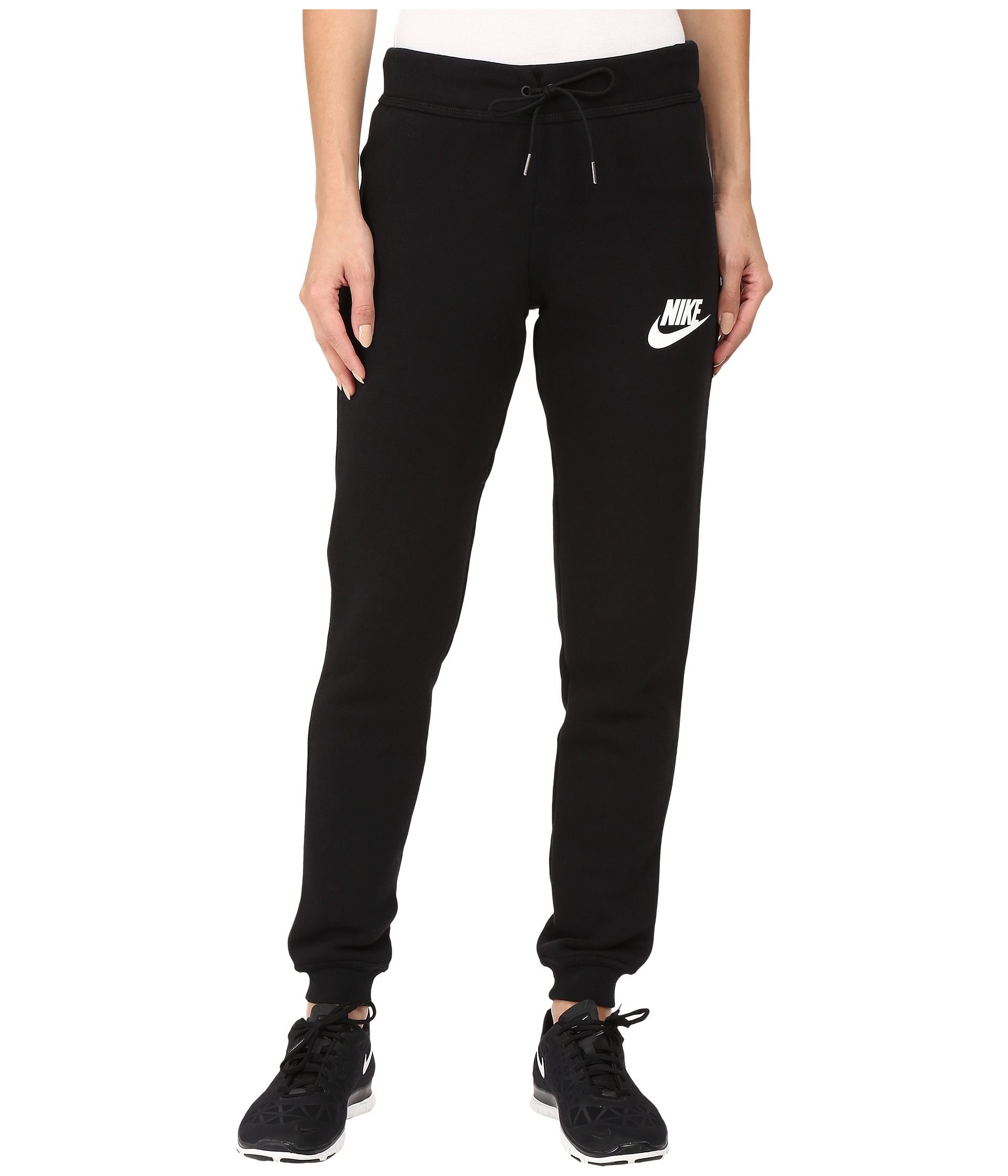 Simple Nike DriFIT Slim Fit Ultra LowRise Nylon Women39s Training Pants