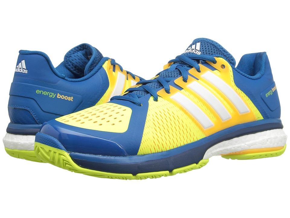 adidas - Tennis Energy Boost (Unity Blue/White/Solar Yellow) Men