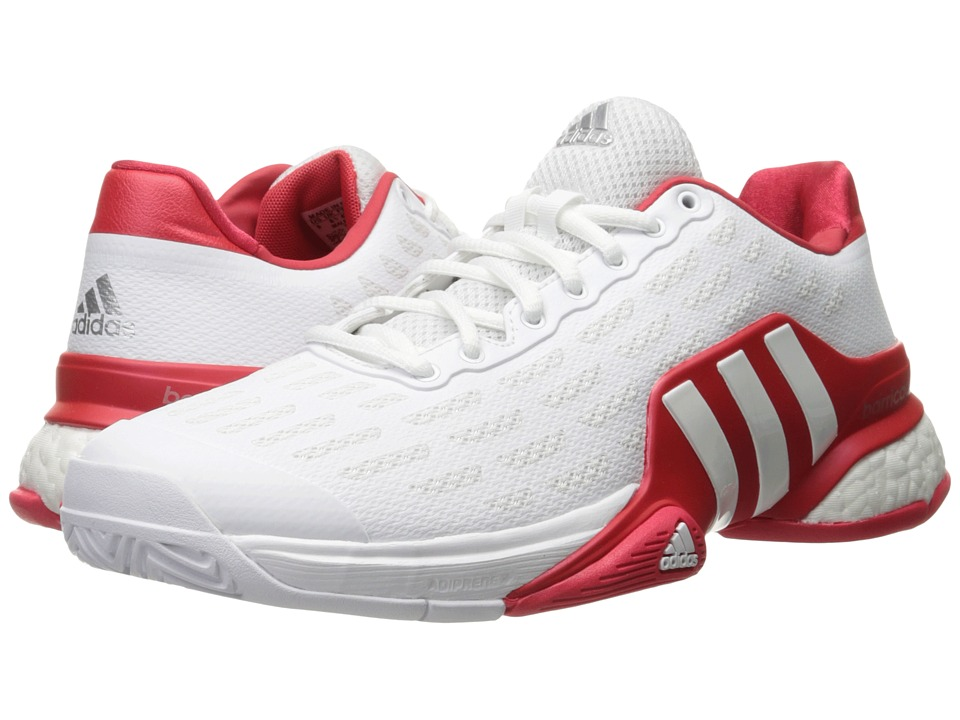 adidas Barricade 2016 Boost (White/Ray Red) Men