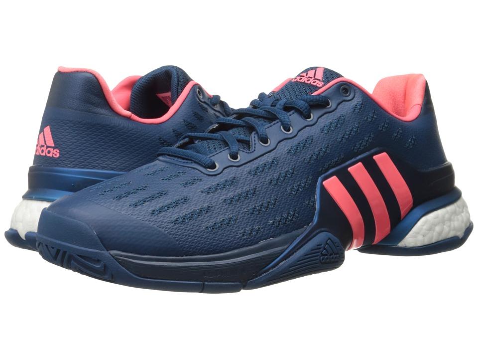 adidas - Barricade 2016 Boost (Tech Steel/Flash Red) Men