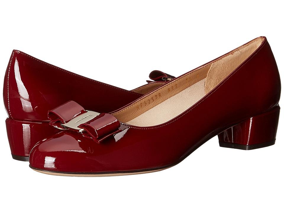 Salvatore Ferragamo - Vara 1 (Opera Patent Leather) Women
