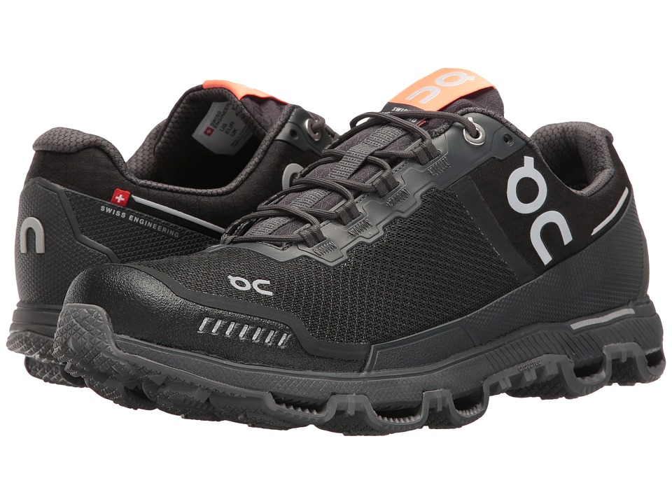 On Cloudventure Shield (Black/Dark) Women's Running Shoes