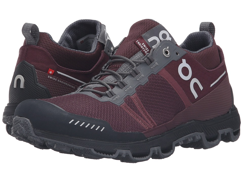 On Cloudventure Midtop (Mulberry/Grey) Women's Running Shoes