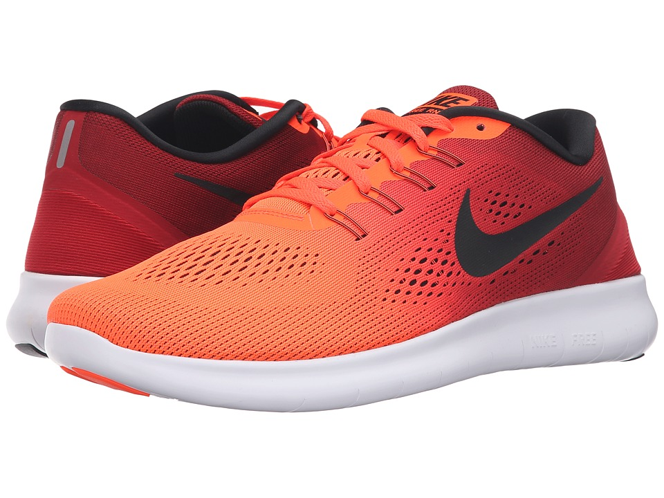 Nike - Free RN (Total Crimson/Black/Gym Red/White) Men