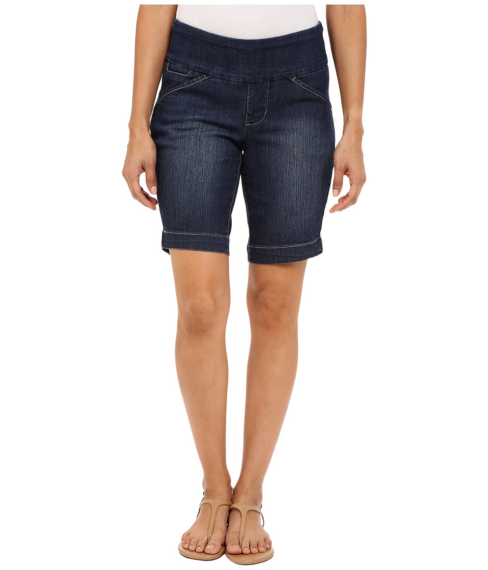 Jag Jeans Petite Petite Ainsley Bermuda in Comfort Denim Anchor Blue Womens Shorts