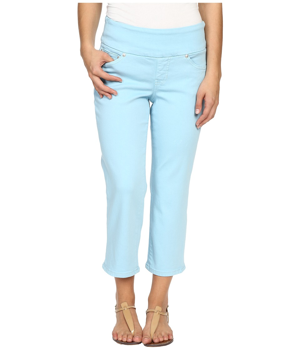 Jag Jeans Petite Petite Echo Crop in Dolce Twill Azure Womens Jeans
