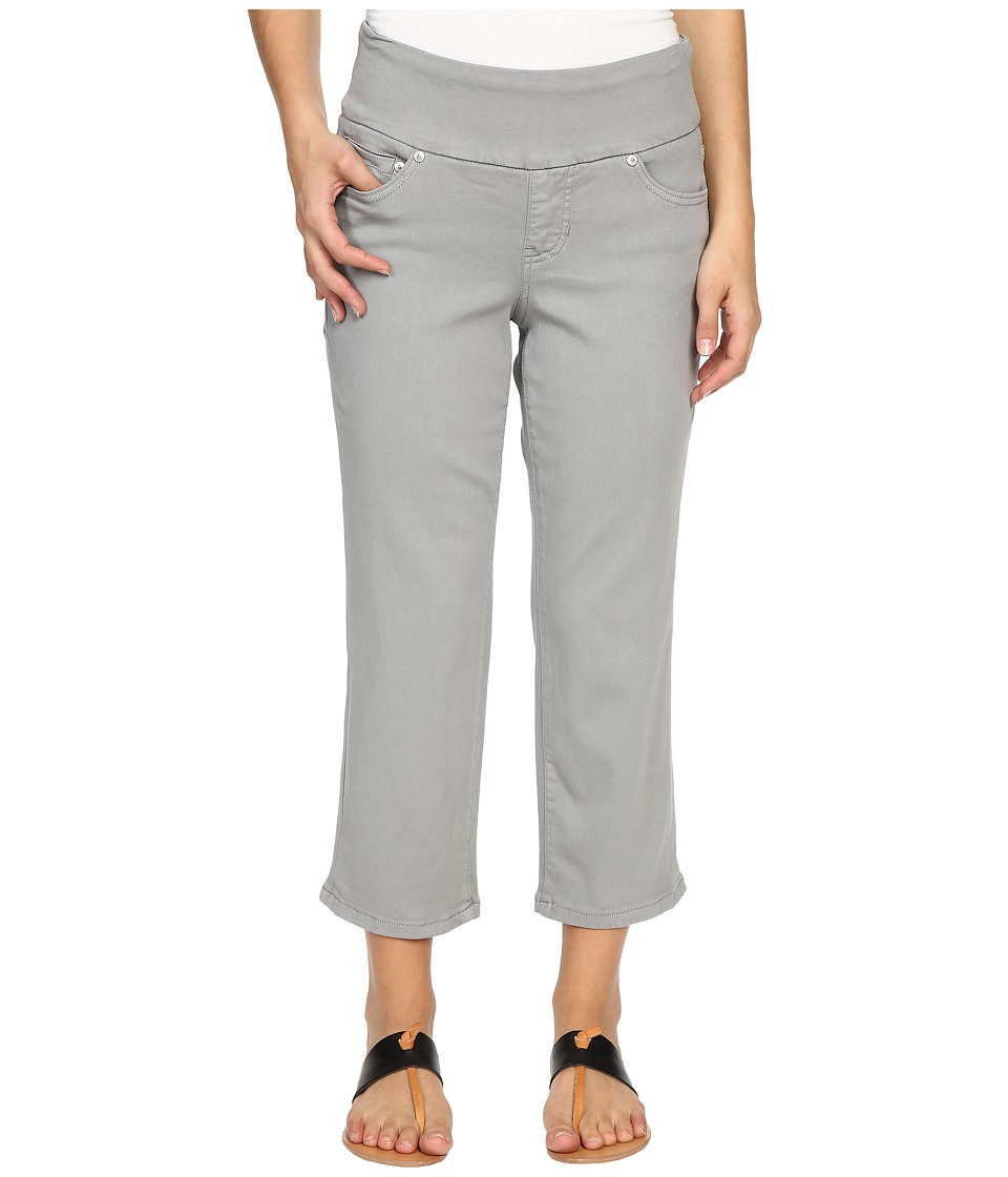 Jag Jeans Petite Petite Echo Crop in Dolce Twill Fog Grey Womens Jeans