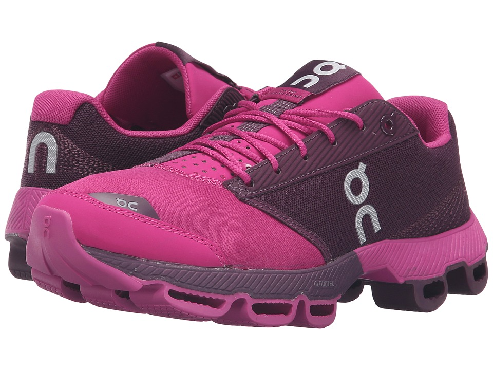 On - Cloudster (Magenta/Berry) Women's Running Shoes