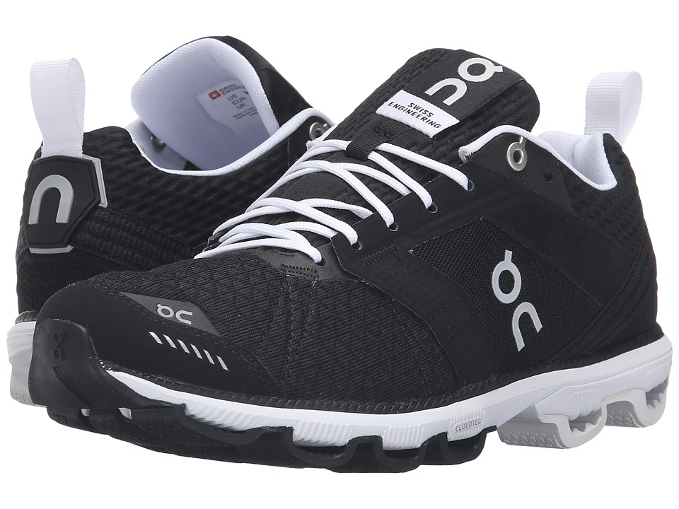 On - Cloudcruiser (Black/White) Womens Shoes