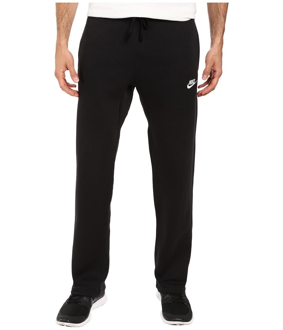 Nike - Sportswear Fleece Pant (Black/White) Men's Fleece