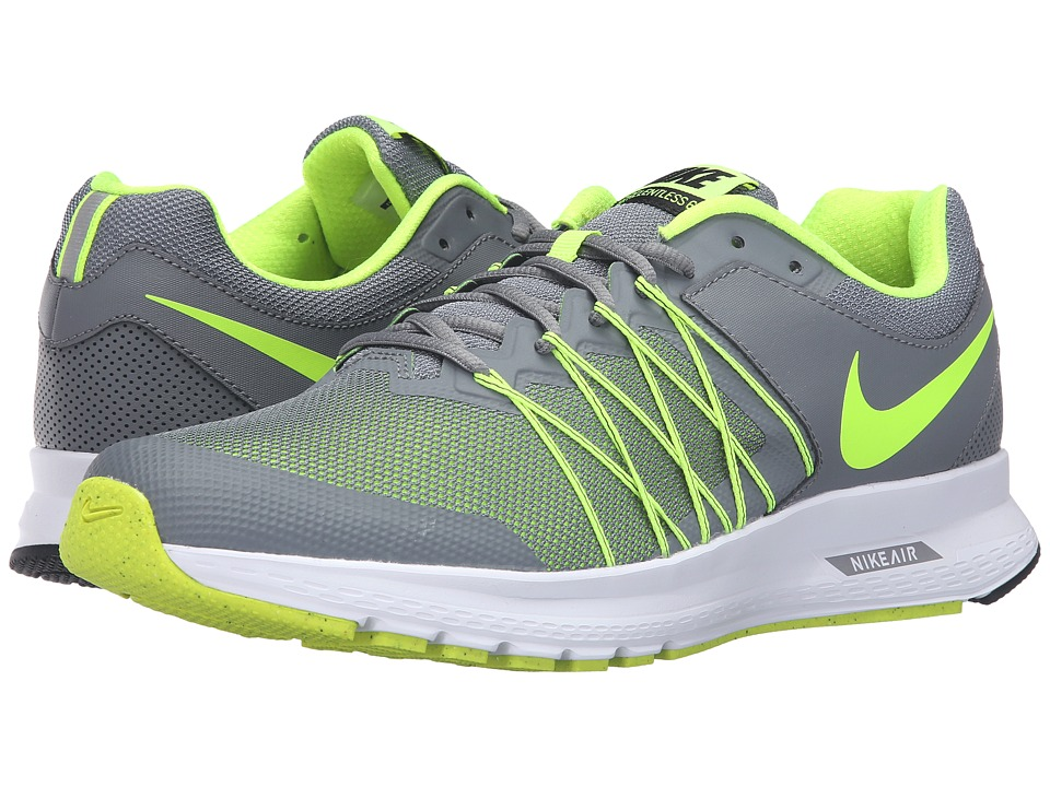 Nike - Air Relentless 6 (Cool Grey/Volt/Black/White) Mens Running Shoes