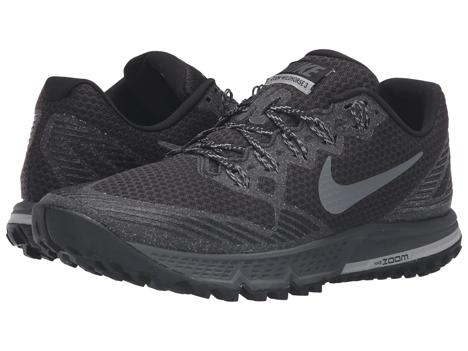 Nike - Air Zoom Wildhorse 3 (Black/Dark Grey/Wolf Gray/Cool Gray) Men