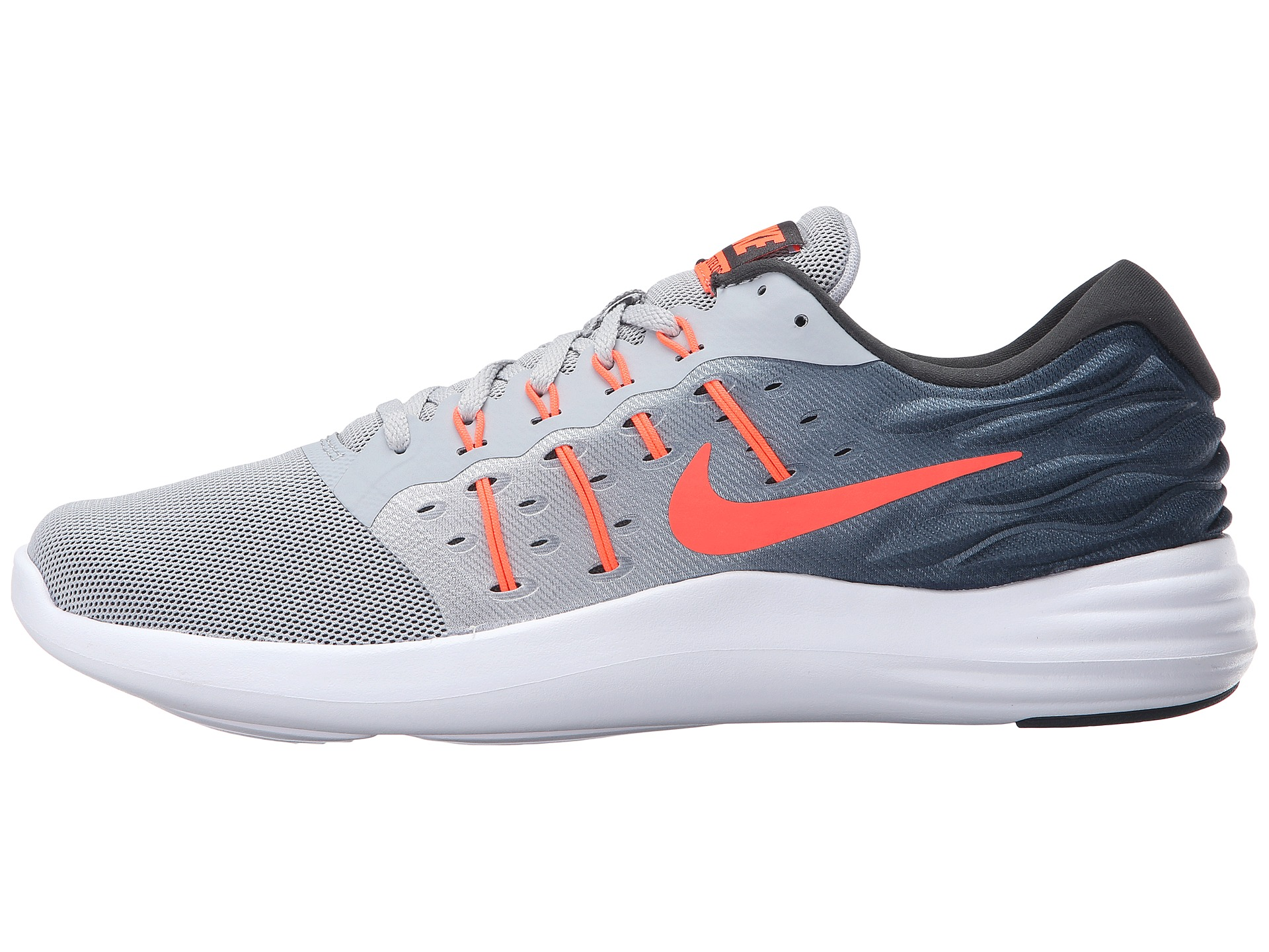 Nike Lunarstelos Wolf GrayTotal CrimsonAnthraciteWhite