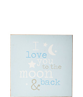Mud Pie - Moon and Back Plaque