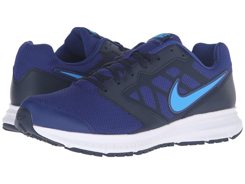 Nike Downshifter 6 (Deep Royal Blue/Blue Glow/Obsidan/White) Men