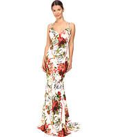 Philipp Plein - Floral Sleeveless Long Dress