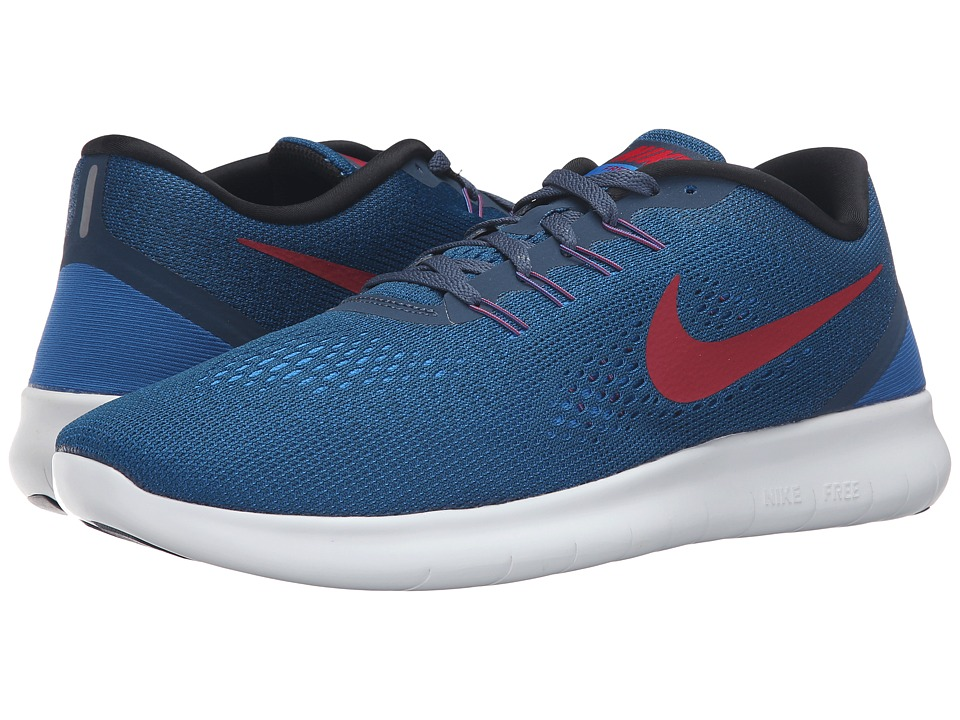 Nike - Free RN (Squadron Blue/Gym Red/Blue Spark/Black) Men
