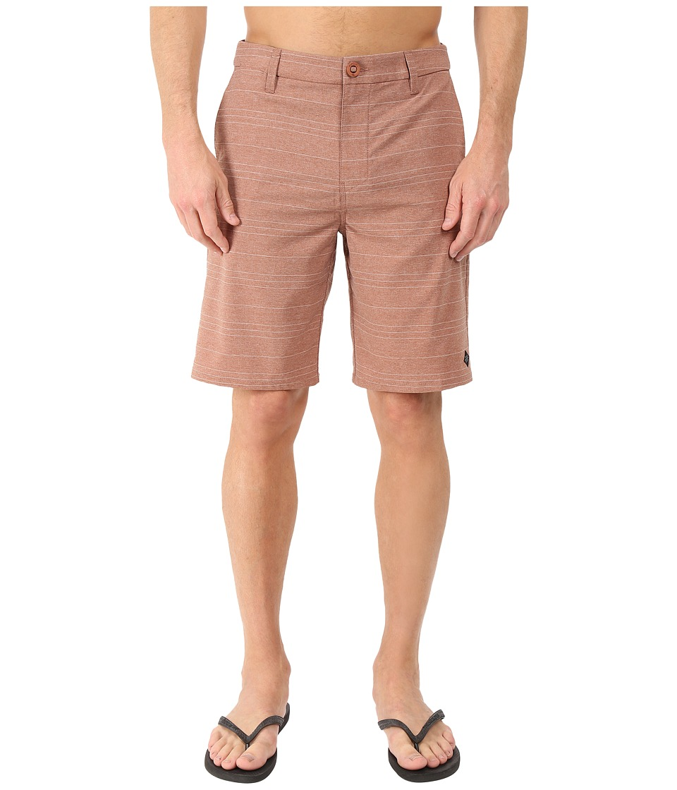 Rip Curl Channel Boardwalk Rust Mens Shorts