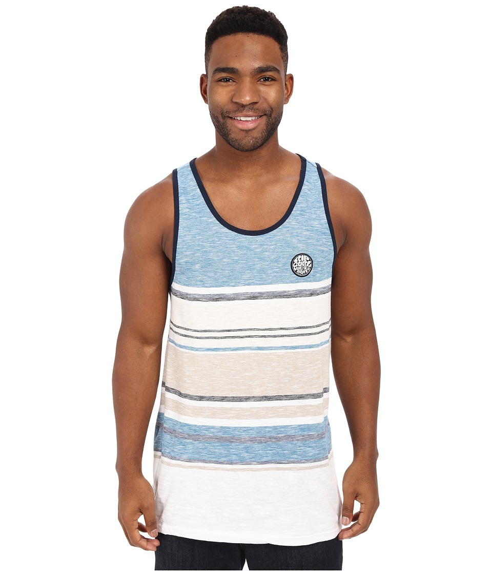 Rip Curl Go Time Tank Top Blue Mens Sleeveless