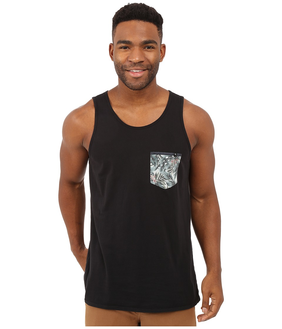 Rip Curl Exile Custom Pocket Tank Top Black Mens Sleeveless