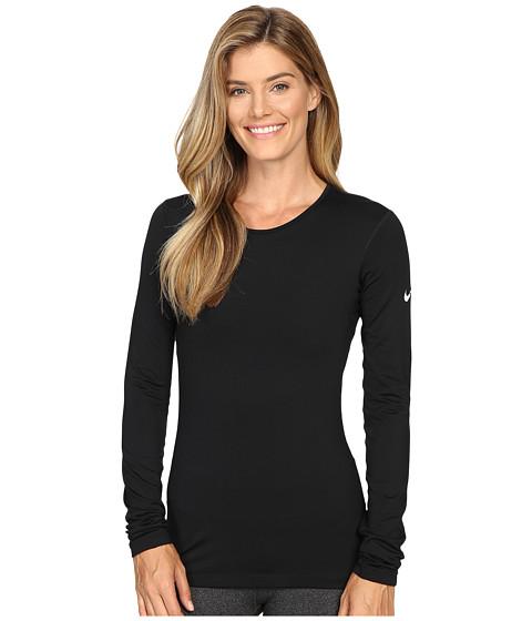 Nike Pro Warm Long Sleeve Training Top - Black/White