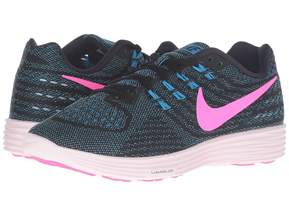Nike Lunartempo 2 (Blue Glow/Pink Blast/Black/Pearl Pink) Women