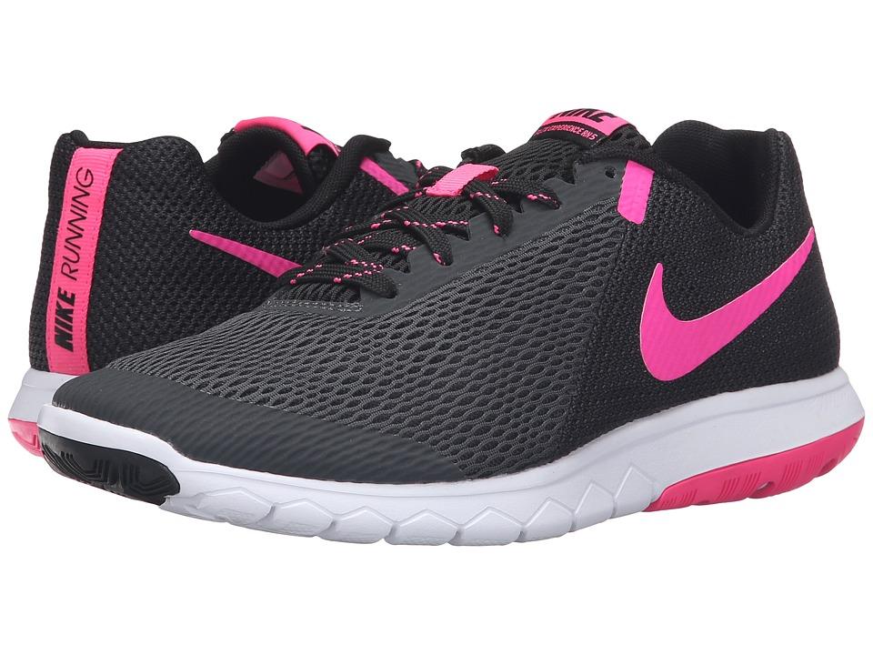Nike Flex Experience RN 5 (Anthracite/Pink Blast/Black/White) Women