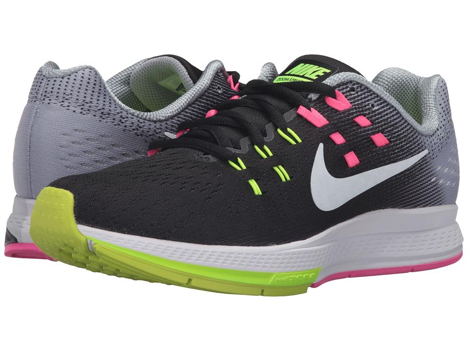 Nike Air Zoom Structure 19 (Black/White/Pink Blast/Dark Purple Dust) Women