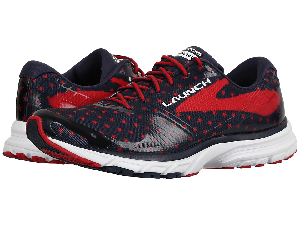 Brooks Launch 3 (Peacoat Navy/True Red/White) Women