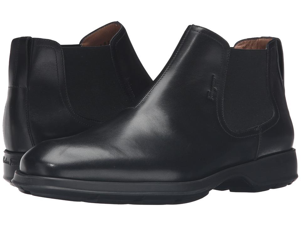Salvatore Ferragamo Good Boot (Nero) Men