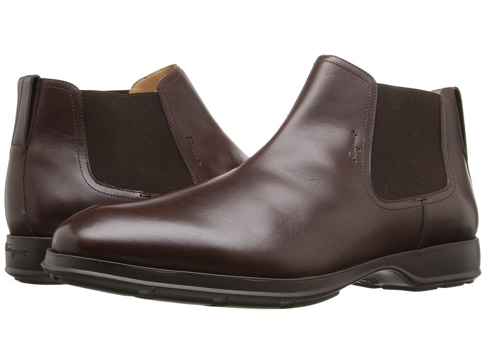 Salvatore Ferragamo Good Boot (Midbrown) Men