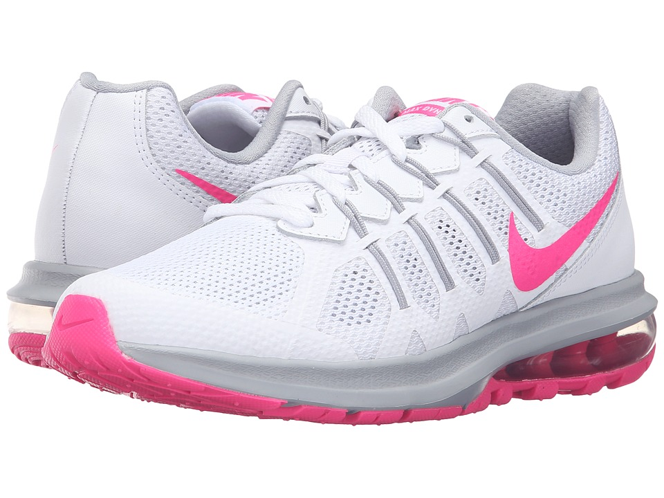 Nike Air Max Dynasty (White/Pink Blast/Wolf Grey) Women
