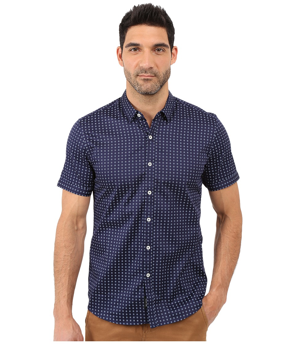 7 Diamonds - Misty Morning Short Sleeve Shirt