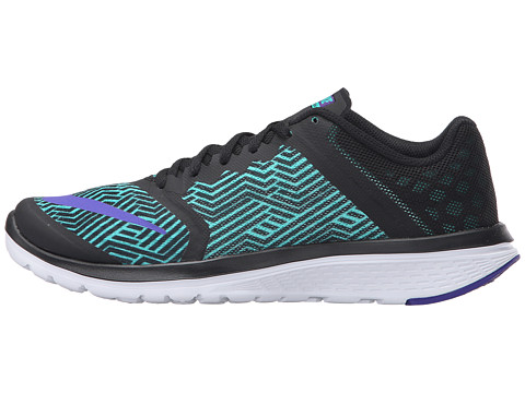 Nike FS Lite Run 4 Women's Running Shoes Black/Hot Punch