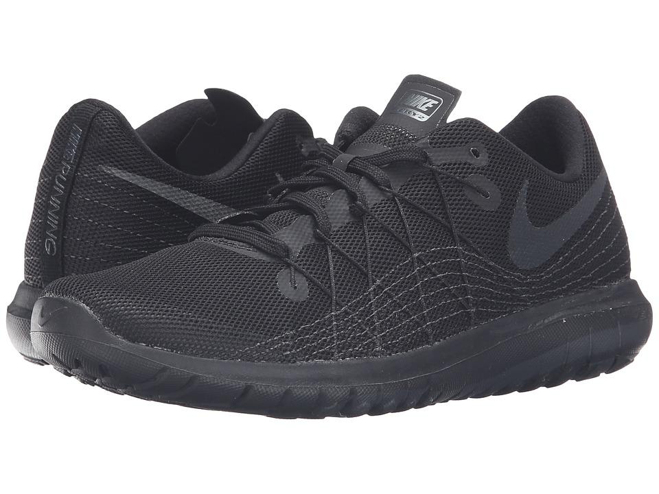 Nike Flex Fury 2 (Black/Anthracite/Black) Women