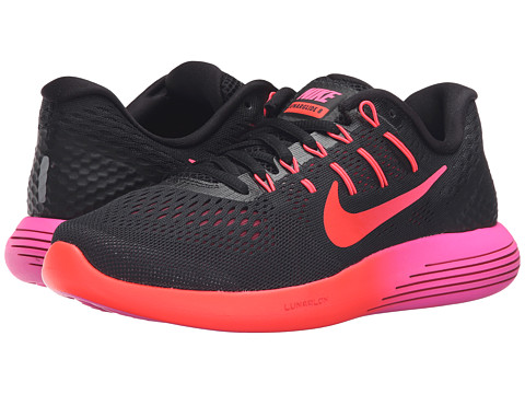 Nike Lunarglide 8 - Black/Multicolor/Noble Red/Bright Crimson