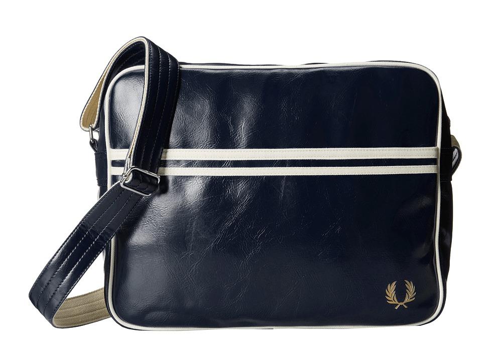 Fred Perry - Classic Shoulder Bag (Navy/Ecru) Messenger Bags