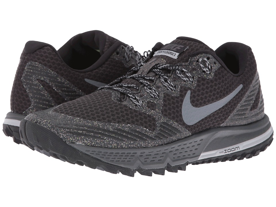 Nike - Air Zoom Wildhorse 3 (Black/Dark Grey/Wolf Gray/Cool Gray) Womens Running Shoes