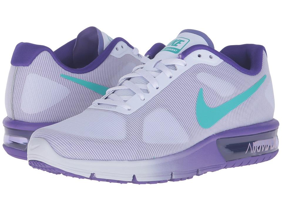 Nike Air Max Sequent (Palest Purple/Clear Jade/Fierce Purple) Women