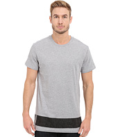 G-Star - Stonum Short Sleeve Crew Neck Long Tee in Compact Jersey