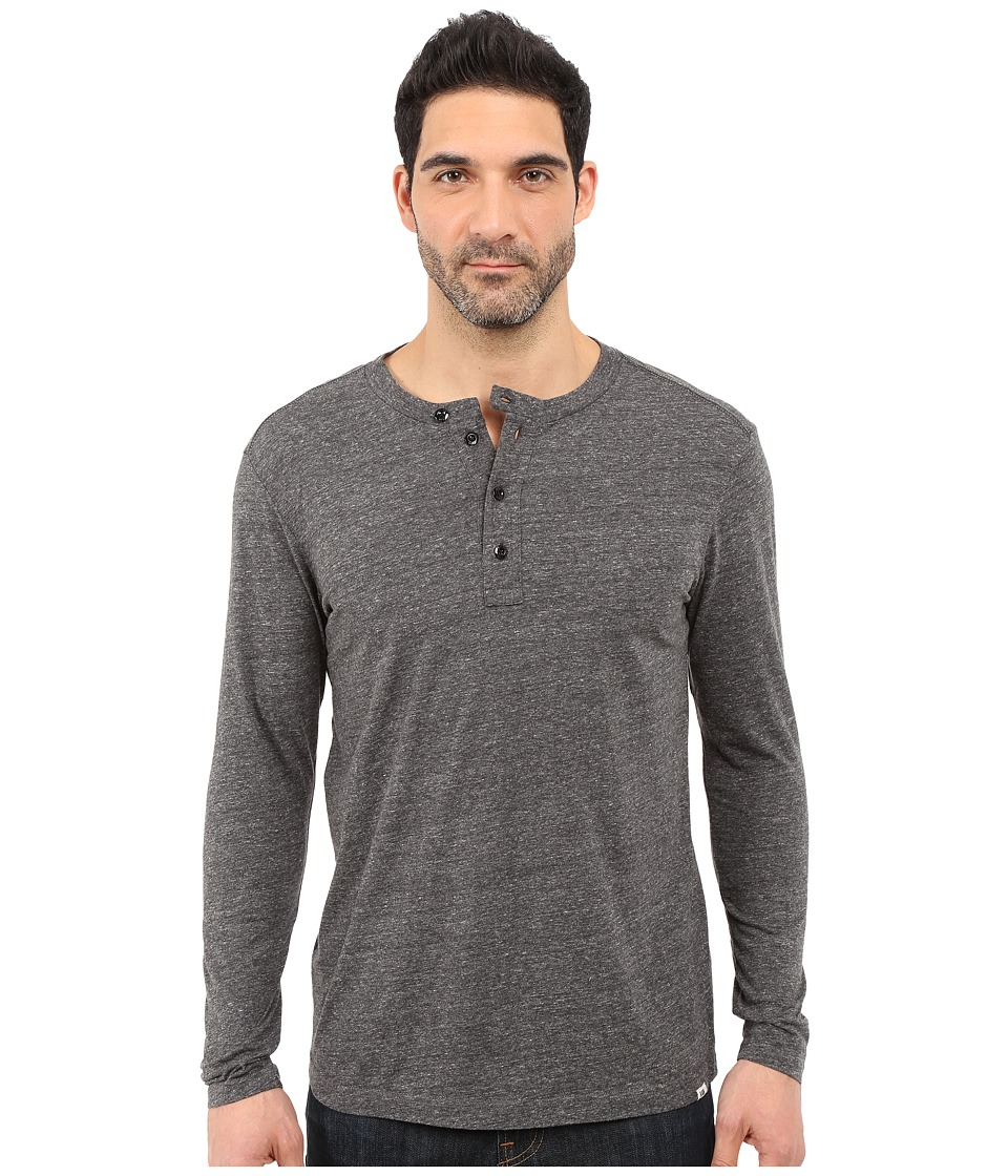 G-Star Riban Granddad Tee in Premium Compact Jersey (Black Heather) Men