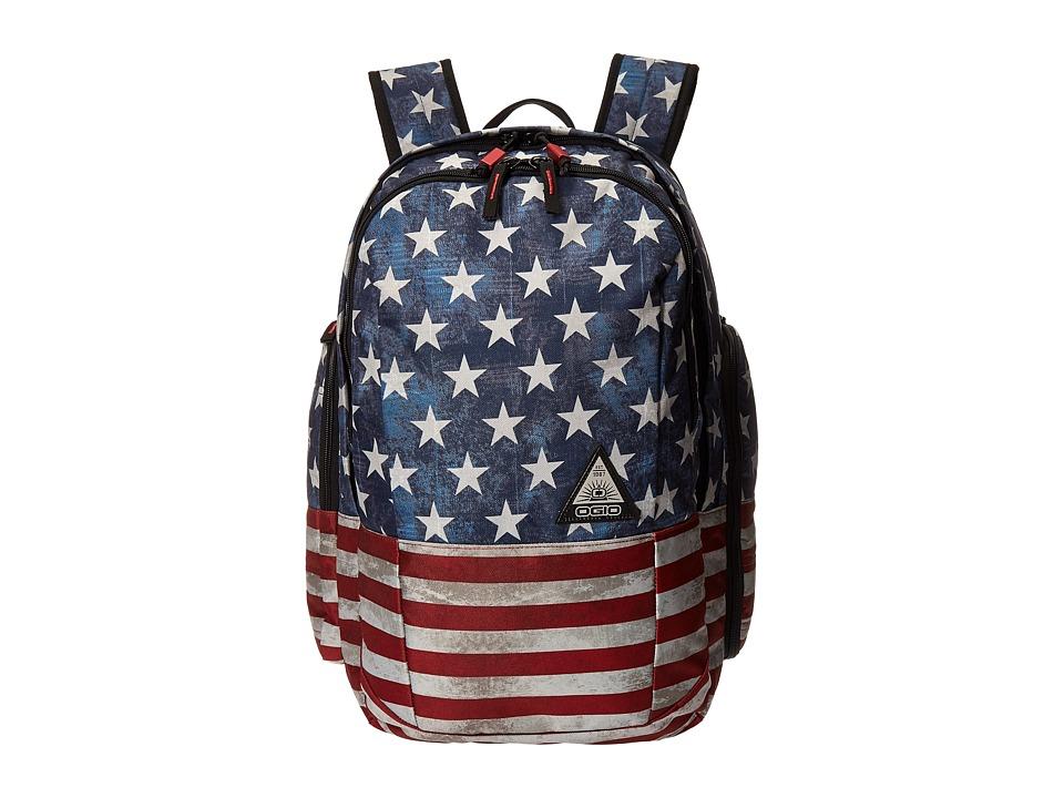 OGIO - Clark Pack (Stars/Stripes) Backpack Bags